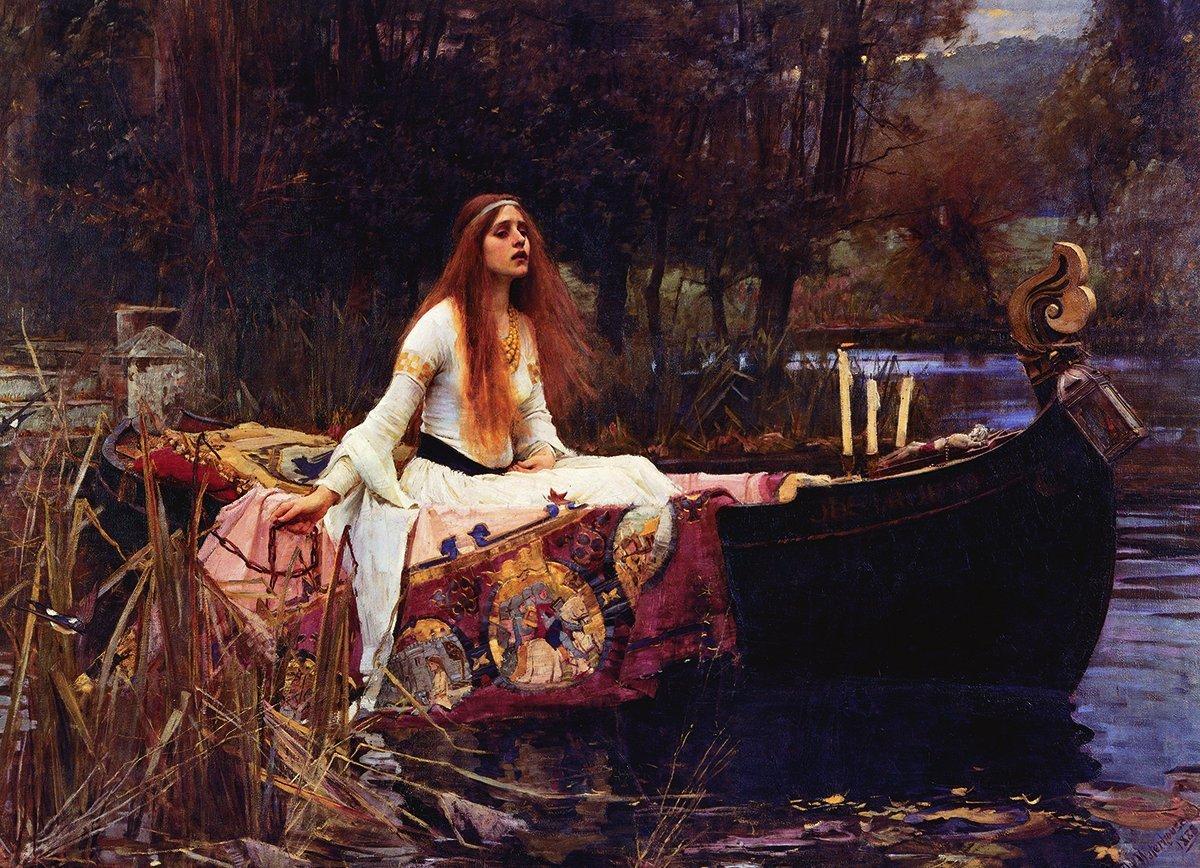 Lady of shalott poster 24 x 36