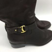 Ralph Lauren Dark Brown Tall Boots, Size 8.0B - $29.70