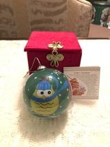 2012 Li Bien Christmas Ornament - Owls - $10.99
