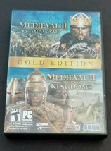 Medieval II: Total War & KINGDOMS-Gold Edition (PC, 2008) - $22.80