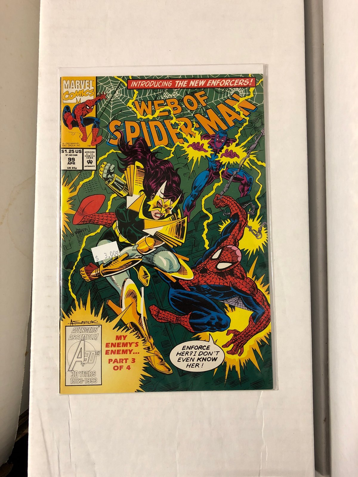 Web Of Spider-Man #99 First Dr Trench