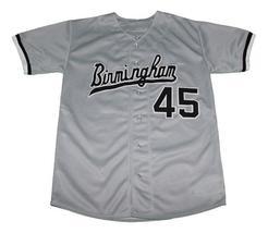 Michael Jordan Birmingham Baseball Jersey Button Down Grey Any Size image 4