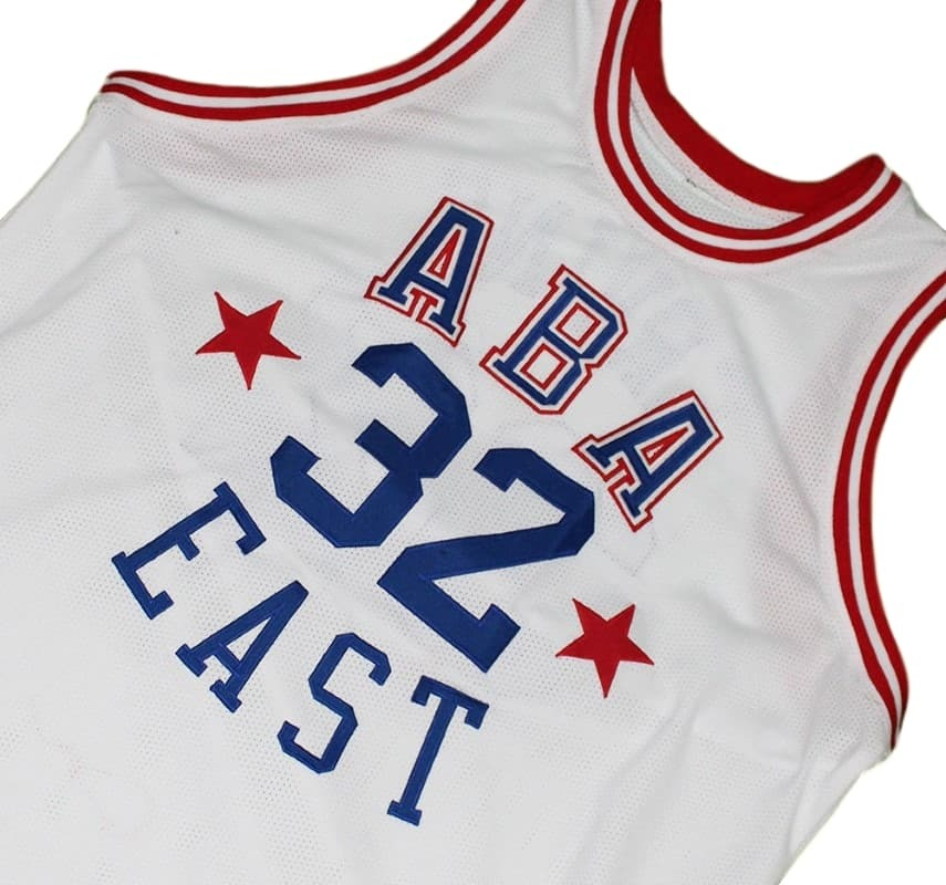 Julius Erving #32 ABA East Basketball Jersey White Any Size