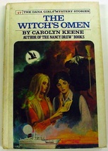 Dana Girls The Witch's Omen no.17 1st Ed Carolyn Keene Nancy Drew author hc - $40.00