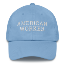 American worker hat / American worker Cotton Cap / American worker / labor day  image 4