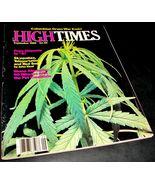 HIGH TIMES MAGAZINE Sept 1980 Shana Alexander Dope Etiquette John Keel M... - $18.52