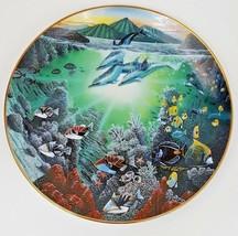 Honolua Bay Of Piilani Underwater Paradise Danbury Mint Plate Robert Lyn... - $12.16