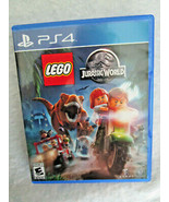 PlayStation PS4 Video GAME - LEGO JURASSIC WORLD, Includes 4 adventures - $18.50