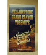 Questar Yellowstone Grand Canyon Yosamite VHS Movie  * Plastic * - $4.78
