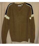 Brown Sporty Sweater Med,/Lg.  - $10.00
