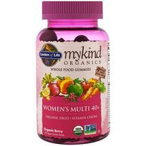 Garden of Life, Mykind Organics, Women's Multi 40+, Organic Berry, 120 G... - $96.74
