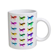KuzmarK Coffee Cup Mug 11 Ounce -  Beagle Dog - £13.67 GBP