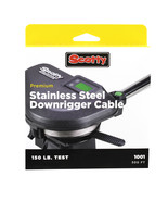 Scotty 400ft Premium Stainless Steel Replacement Cable - $45.00