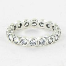 Pandora 190942CZ Ring Alluring Brilliant Cubic Zirconia Sterling Sz 6 52... - $55.28