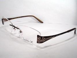 Nicole Miller New Women Eyeglass Frame Bolero Brown - $89.09