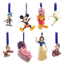 Disney Store Classics 30th Anniversary Ornament Set of 8 Limited Edition... - $128.68