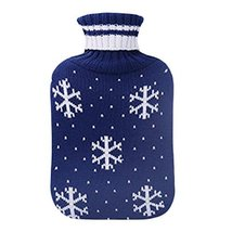 2L Washable Soft Cover Fashion Safe Hot Water Bottle Bag-A02 - $24.32