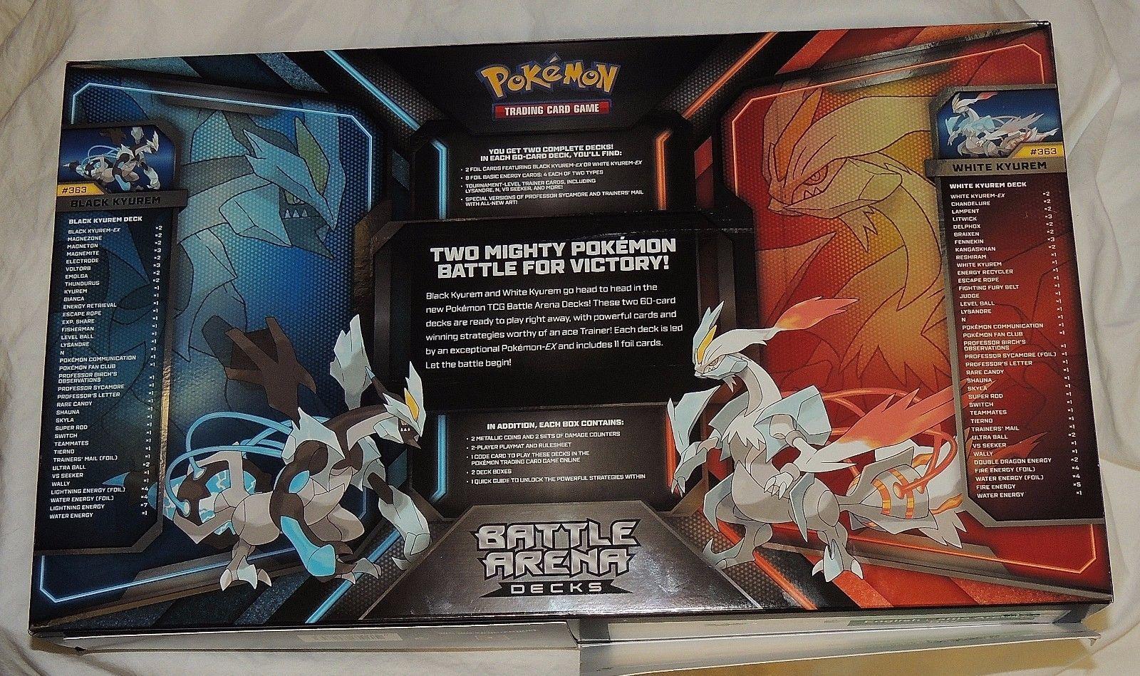 NEW Pokemon Cards TCG Battle Arena Decks and 50 similar items