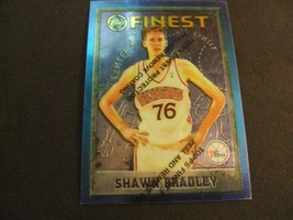 1995-96 Topps Finest w/peel #100 Shawn Bradley-Philadelphia 76ers- - $3.12