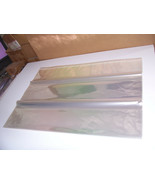 20 PC 48 x 40 ACID LIGNIN FREE MAP POSTER PRINT CLEAR ARCHIVAL STORAGE E... - $132.76