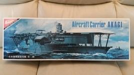 DAMAGED Nichimo 1/500 scale Aircraft Carrier Akagi 赤城 Model Kit U-5020 m... - $104.50