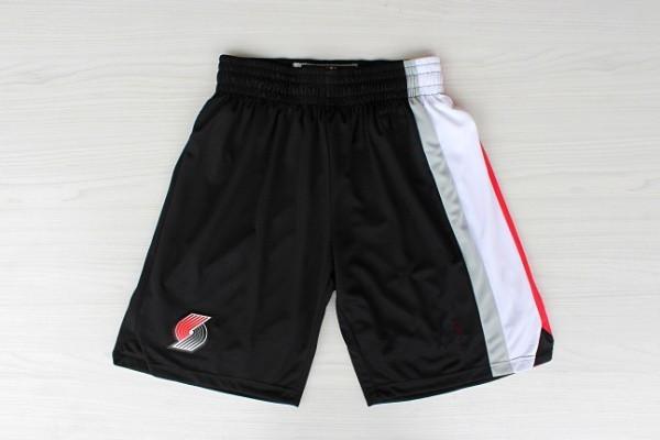 Portland Trail Blazers Black Basketball Shorts for sale  USA
