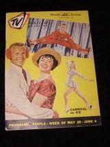 TV Radio Magazine Herald Tribune Newspaper Section 5/29 – 6/4 1960 Carni... - $16.99