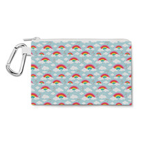 Rainbow Dreams Canvas Zip Pouch - $15.99+