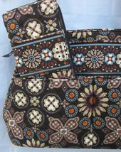 VERA BRADLEY CANYON BOWLER BAG HANDBAG and CHECKBOOK Appear Unused 2012 ... - $61.75