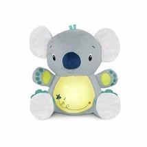 Bright Starts Twinkle Tummy Buddy Gray Yellow Blue Koala Bear Light Up Soother - $39.58