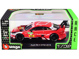 Audi RS 5 #33 Rene Rast DTM Deutsche Tourenwagen Masters (2018) Race Car Series  - $29.39