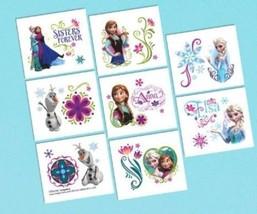 Frozen Disney Anna Elsa 16 ct Tattoos Party Favors Birthday - €1,78 EUR