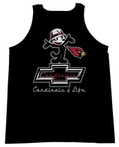 Felix The Cat Chevrolet With The Arizona Cardinals Logo Men Tank Tops - $19.80