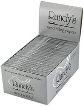 """Randy's Wired Rolling Papers 1 1/4""""- 25 Units per Box - $37.04"""