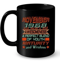 Vintage November 1968 50th Birthday Gift Ceramic Mug - $13.99+