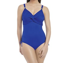 Fantasie Ottawa FS6360 W Underwired Twist Front Swimsuit Pacific (PAC) CS - $128.58