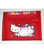 Hello Kitty Red Wallet - $5.00