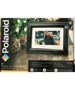 "Polaroid - PDF-750W - 7"" Digital Photo Frame Screen - Black - $49.45"