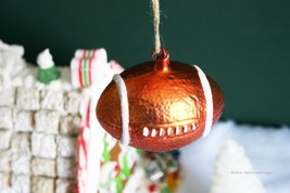 Pottery Barn Football Ornament -NIB- Don't Let This One Pass You By! - $17.95