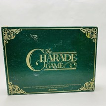 Vintage The Charade Board Game 1985 Pressman Party Game - $19.99