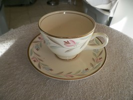 Homer Laughlin Nantucket cup and saucer  6 available - $3.47