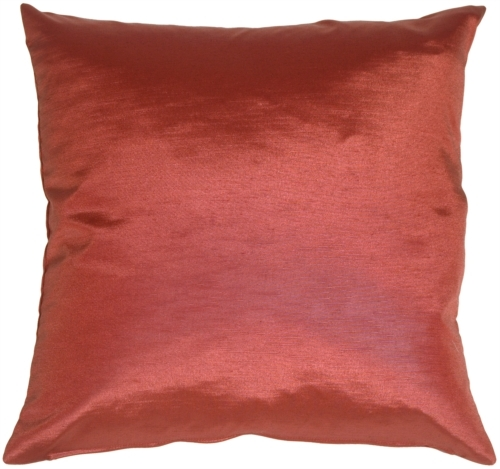 Pillow Decor - Metallic Plum Throw Pillow
