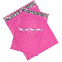 2-200 #0 #000 6x10 4X8 Poly ( Pink ) Color Bubble Padded Mailers Fast Sh... - $3.49+