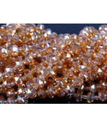 Czech Crystal Faceted Rondelle Wheel Spacer Loose Beads 8mm 10mm Clear A... - $5.18+