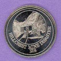 1984 Crowsnest Pass Alberta Trade Token or Dollar Hillcrest Mines Disaster - $3.00