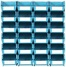 Triton Products LocBin 3-210TBWS Wall Storage Unit with  Interlocking Po... - $40.73