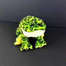 "Ganz Webkinz Bullfrog Plush HM114 Stuffed Animal Green Frog 11"" No Code  - $10.88"