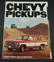 Chevrolet 1977 Pickup Dealer Sales Brochure Fleetside Stepside 4WD C/K Original - $7.99