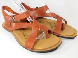 Keen Sofia II Sz 7 M (B) EU 37.5 Women's Leather Casual Sandals Picante/... - $42.30