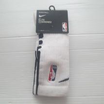 Nike ELITE Cushioned NBA Crew Socks - SX5867 - White 100 - Size S - NWT - $9.99